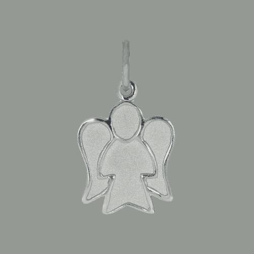 55475 - Silberfigur, Engel, Anhänger, Sterlingsilber, Taufgeschenk