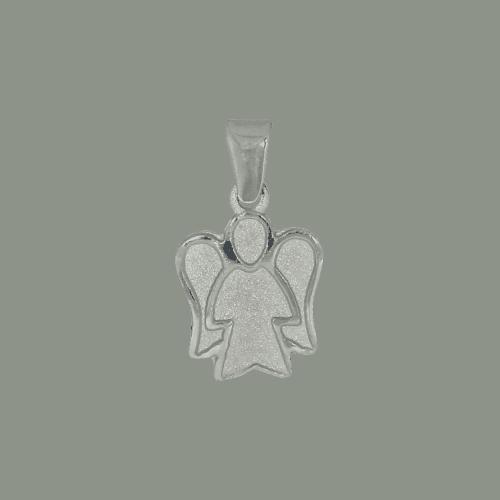 55474 - Engelsfigur, 925, Sterlingsilber, Silber, Engel, Schutzengel, Schutz, beschützen, Taufe, Taufkind, Anhänger, Silberanhänger