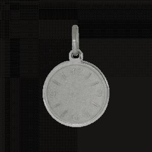 55479 - Taufuhr, Taufkette, 925, Sterlingsilber, Silber, Uhr, Taufe, Kinderanhänger, Kinderschmuck